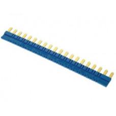 20-полюсный шинный соединитель синий