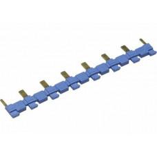 8-полюсный шинный соединитель синий