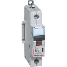 Автоматический выключатель DX3 1П B32A 6000/10kA