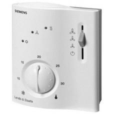 Электронный комнатный термостат для 2-трубных фэнкойлов   с электрическим нагревателем AC 230 V +10/-15%