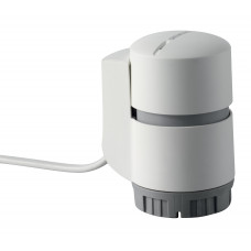 Электротермический привод AC 230 V, NO, 2P, 1 m