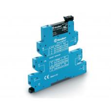 Интерфейсный модуль, твердотельное реле, серия MasterINPUT; выход 2A (24В DC); питание 12В DC;