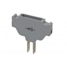 Картридж (с диодом) для клемм AVK 2.5F/CF; AVK SKTD