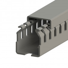KKC 2530; Перфорированный короб, 25x30 (ШxВ) Широкий шаг перфорации (100м/упак)