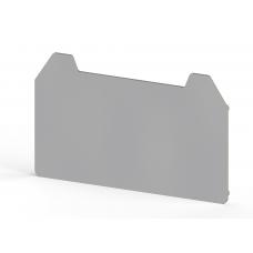 Концевой сегмент на измер. клеммники WGO 2IR, (серый);  NPP / WGO 2IR