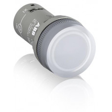 Лампа CL2-502C белая со встроенным светодиодом 24В AC/DC