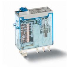 Миниатюрное промышленное электромеханическое реле;  2СO 8A;  катушка 125В DC; влагозащита RTII; опции: кнопка тест + мех.индикатор