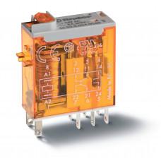 Миниатюрное промышленное электромеханическое реле;  2СO 8A;  катушка 230В АC;опции: мех.индикатор