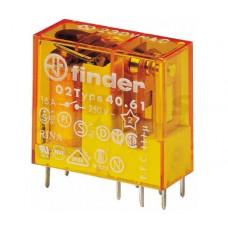 Миниатюрное универсальное электромеханическое реле;  1CO 16A; катушка 110В AC;