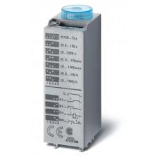 Миниатюрный мультифункциональный таймер (AI, DI, SW, GI);  питание 240В АС; 4CO 7A; регулировка времени 0.05с…100ч;
