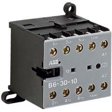 Миниконтактор B6-30-10 9A (400В AC3) катушка 230В АС