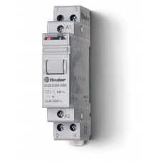 Модульное электромеханическое шаговое реле; 1NC+1NO 16А, 2 состояния;  питание 240В АC;