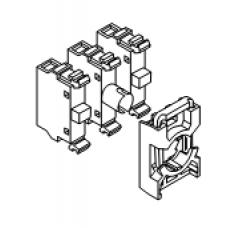 Монтажная колодка MCBH-00 (на 3 элемента)