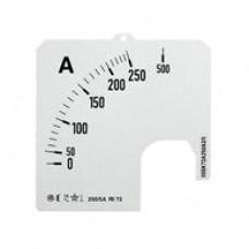 Шкала для амперметра SCL 1/200A A1