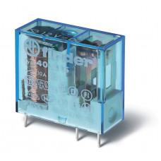 Миниатюрное универсальное электромеханическое реле; 1СO 10A;  катушка 12В DC;