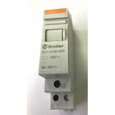 Модульный контактор; 1NO 20А;  катушка 230В АС;