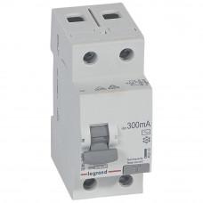 Выключатель дифференциально тока RX3 ВДТ 300мА 40А 2П AC